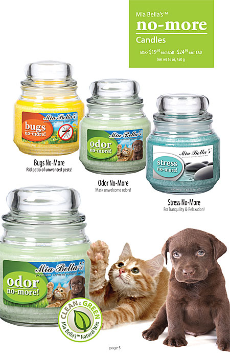 Mia Bella's 9oz, 16oz and 26oz Jar Candles Catalog Page 5