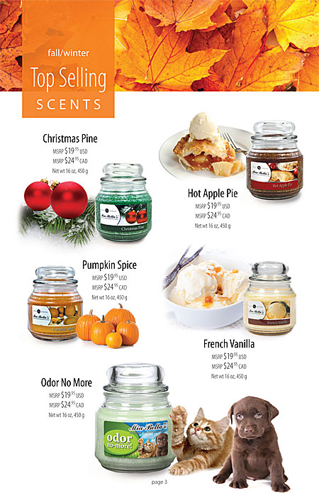 Mia Bella's Featured Spring and Summer Scents Page 3