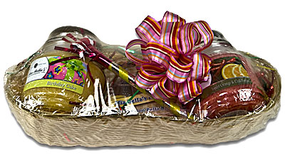 Mia Bella's Gift Baskets make great gifts for corporate gifting, business gifts, holiday gifts, Christmas gifts