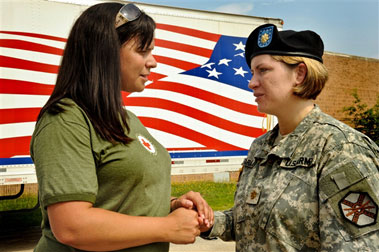 Red Cross Armed Forces and Veterans Programs Image